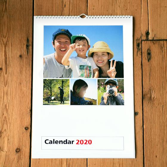 壁掛けカレンダー リングタイプ a3 写真でオリジナルカレンダー作成