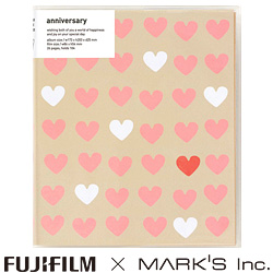 """チェキ""専用アルバムWedding HEART FUJIFILM×MARK'S Inc."