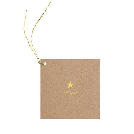 photo gift tag kf foryouスター ましかくサイズ 89 89mm 用 アルバム