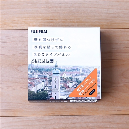 ShacollaBox(シャコラボックス) ましかくサイズ(89×89mm) ブラック(フジフイルム)格安通販しか勝たん